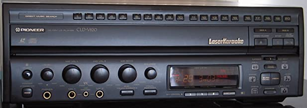 Pioneer CLD-V820 CD CDV LD Laser Karaoke Laser Disk Disc LD Player