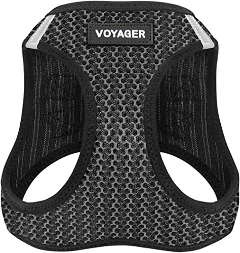 Best Pet Supplies, Inc. Voyager Step-in Air Dog Harness - All Weather Mesh, Step in Vest Harness for Small and Medium...
