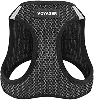 Voyager Step-in Air Dog Harness – All Weather Mesh, Step in Vest Harness for Small..