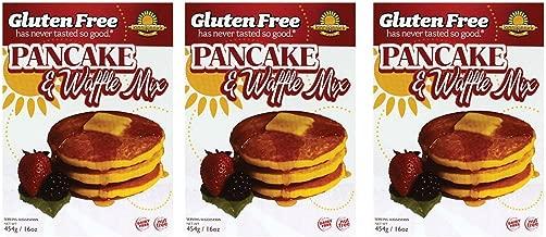 kinnikinnick | sin gluten Pancake & Waffle Mix 16 oz [3 Pack ...