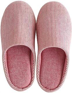 [HR株式会社] ルームシューズ 暖かい 滑らない レディース メンズ 和風 冬 スリッパ 無地 防寒 室内履き もこもこ 静音 自宅用 来客用 ふわふわ 男女兼用