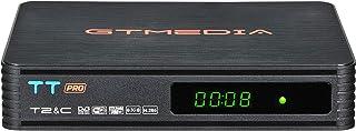 GT MEDIA TT Pro Decodificador TDT HD Terrestre Receptor de Cable TV Digital DVB-T/T2 DVB-C con Antena WiFi USB 1080P Full ...