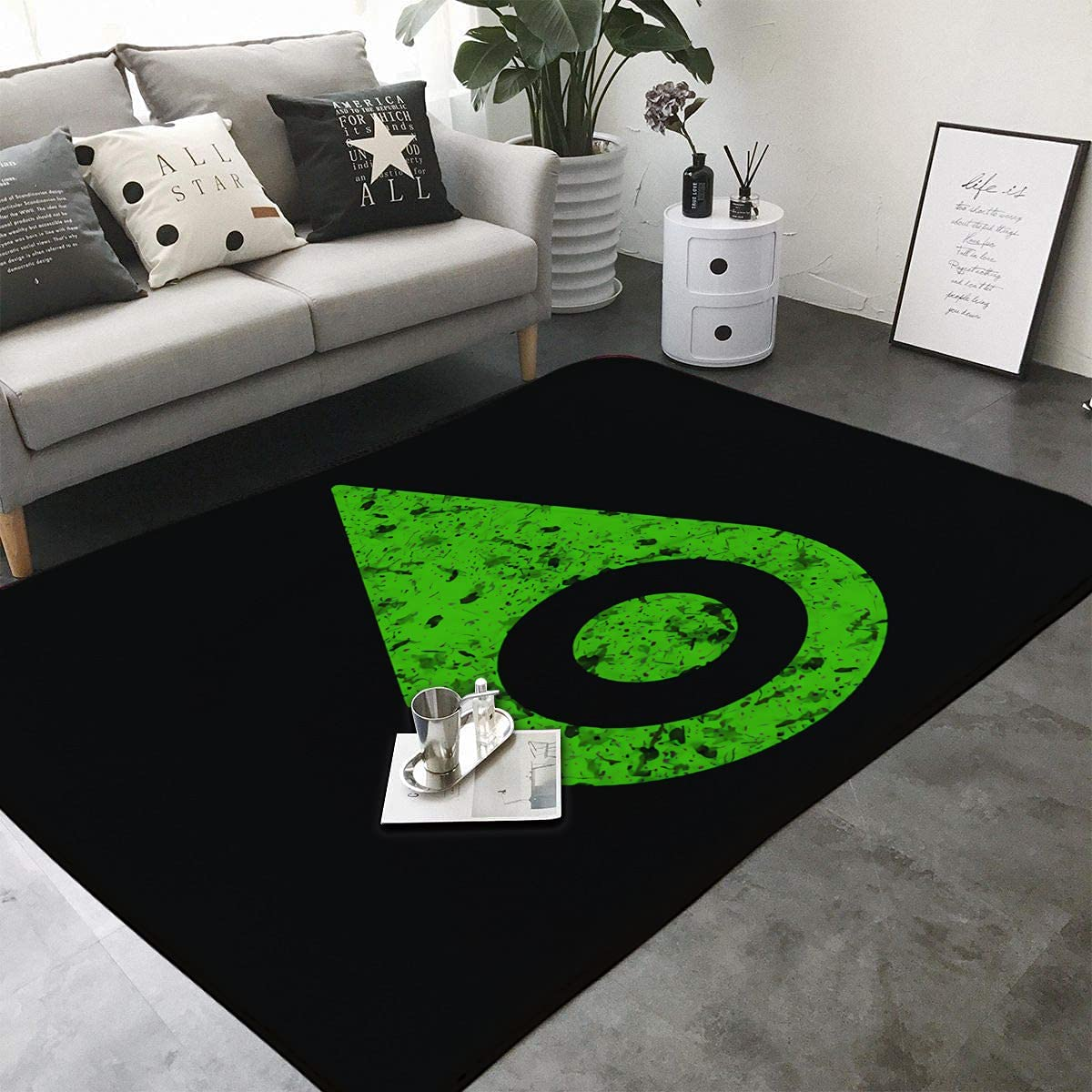 Tattered Sincerity-Kids Rugs for Bedroom Carpet Latest item Lowest price challenge Chair M Playroom