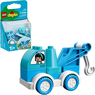 LEGO DUPLO My First Tow Truck 10918 Educational Tow Truck Toy, Great Gift for Kids Ages 18 Months and up, New 2020 (6 Pieces)