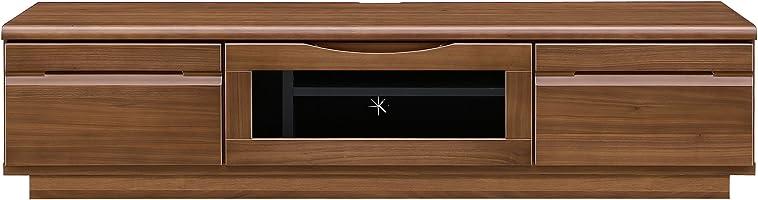 大川家具 関家具 テレビボード 幅150cm ウォールナット色 240153