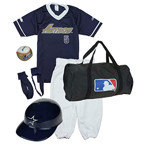805aa928a5c Franklin Houston Astros Baseball Youth Uniform Set Ages 7-10 Kids