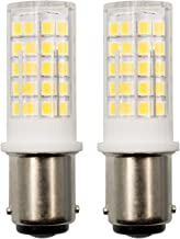 TZHILAN B15D Led-gloeilampen, 4 W, dimbaar, komt overeen met 40 watt halogeenlamp, AC 220V-240V daglichtwit, 6000K dubbelc...