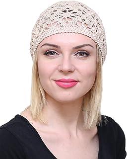 قبعات NFB قطنية للنساء الصيف قبعة صغيرة دانتيل كلوش اكسسوارات الشعر كاب