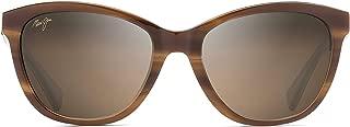Maui Jim Sunglasses | Women's | Canna 769 | Cateye Frame, Polarized Lenses, with Patented PolarizedPlus2 Lens Technology