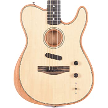 Fender American Acoustasonic Telecaster Natural w/Premium Gig Bag