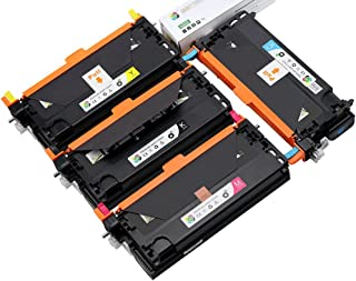 4PK Caire(TM) 106R01395, 106R01392, 106R01393, 106R01394 Remanufacturered for Xerox Phaser 6280, 6280N, 6280DN Toner Cartridge (6280: 4PK)