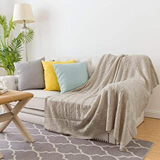 chunky knit blanket made in usa