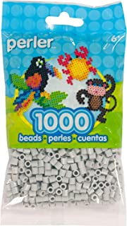Perler Perler Beads 1, 000/Pkg-Light Grey, Other, Multicoloured