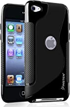 Insten TPU Case Ultra Thin Skin Cover Compatible with Apple iPod Touch 4th Gen 4G 4 Generation, Black
