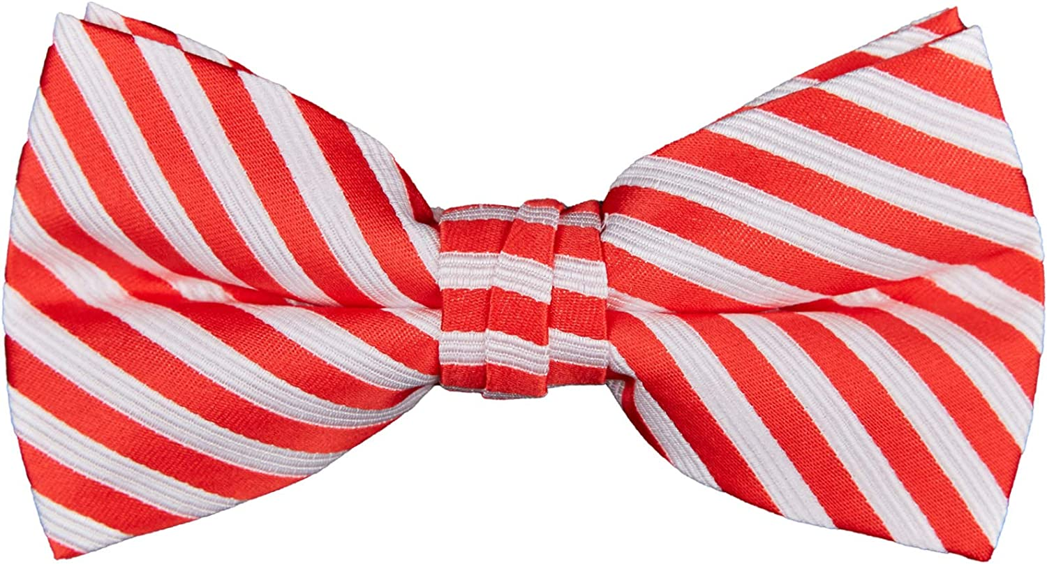 Max 40% OFF Jacob Alexander Men's Christmas Candy Cane Stripe White Large special price !! Pre- Red