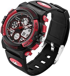 4474 Luminous Alarm Function Calendar Display True Seconds Disk Design Multifunctional Sport Men Electronic Watch with Plastic Band