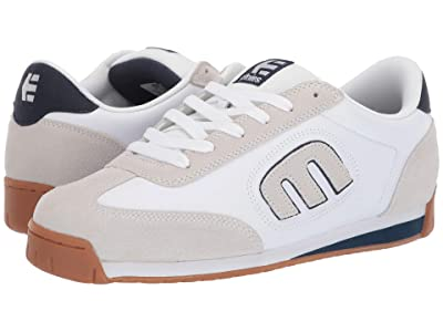 etnies Lo-Cut II LS (White/Navy/Gum) Men
