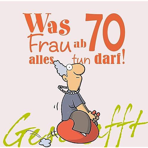 70 Geburtstag Frau Amazon De
