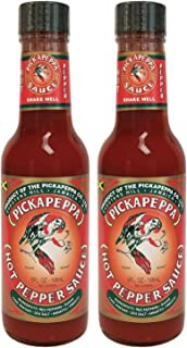 Pickapeppa Sauce Pepper Hot 5oz (Pack of 2)