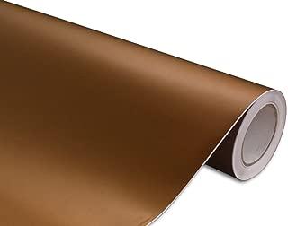 Hachi Auto Matte Anodized Chocolate Vinyl Car Wrap 12-by-60-inch