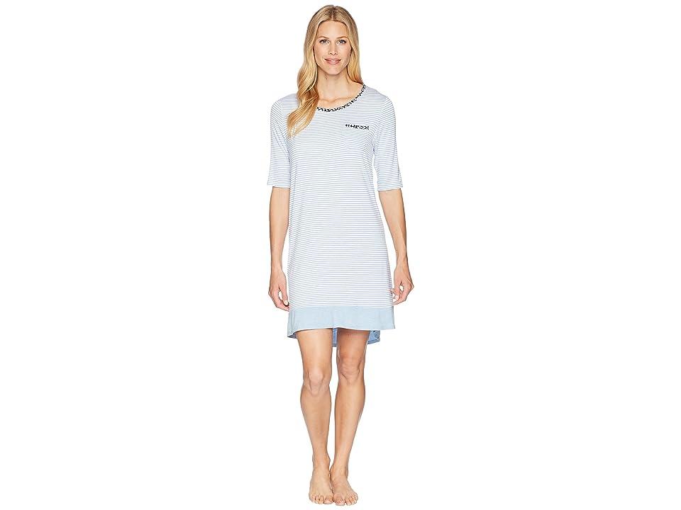 Jockey Sleepshirt (Blue Stripe) Women