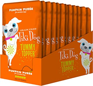 Tiki Dog Tummy Topper – Pumpkin & Ginger – 1.5 oz Pouch (12 Pack)
