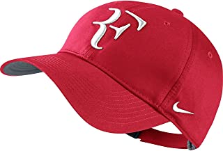 c8ba3936dde Mens Nike Premier RF Hybrid Adjustable Tennis Hat University Red Grey White  371202-