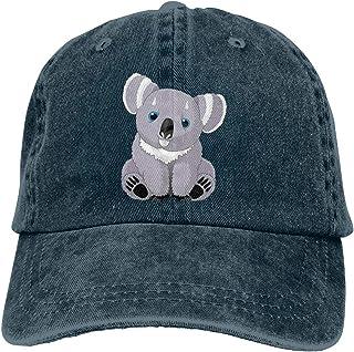 85e5963be93b8 Fashion Casual Unisex Cute Australia Koala Bear Adjustable Baseball Cap  Adult Denim Hat