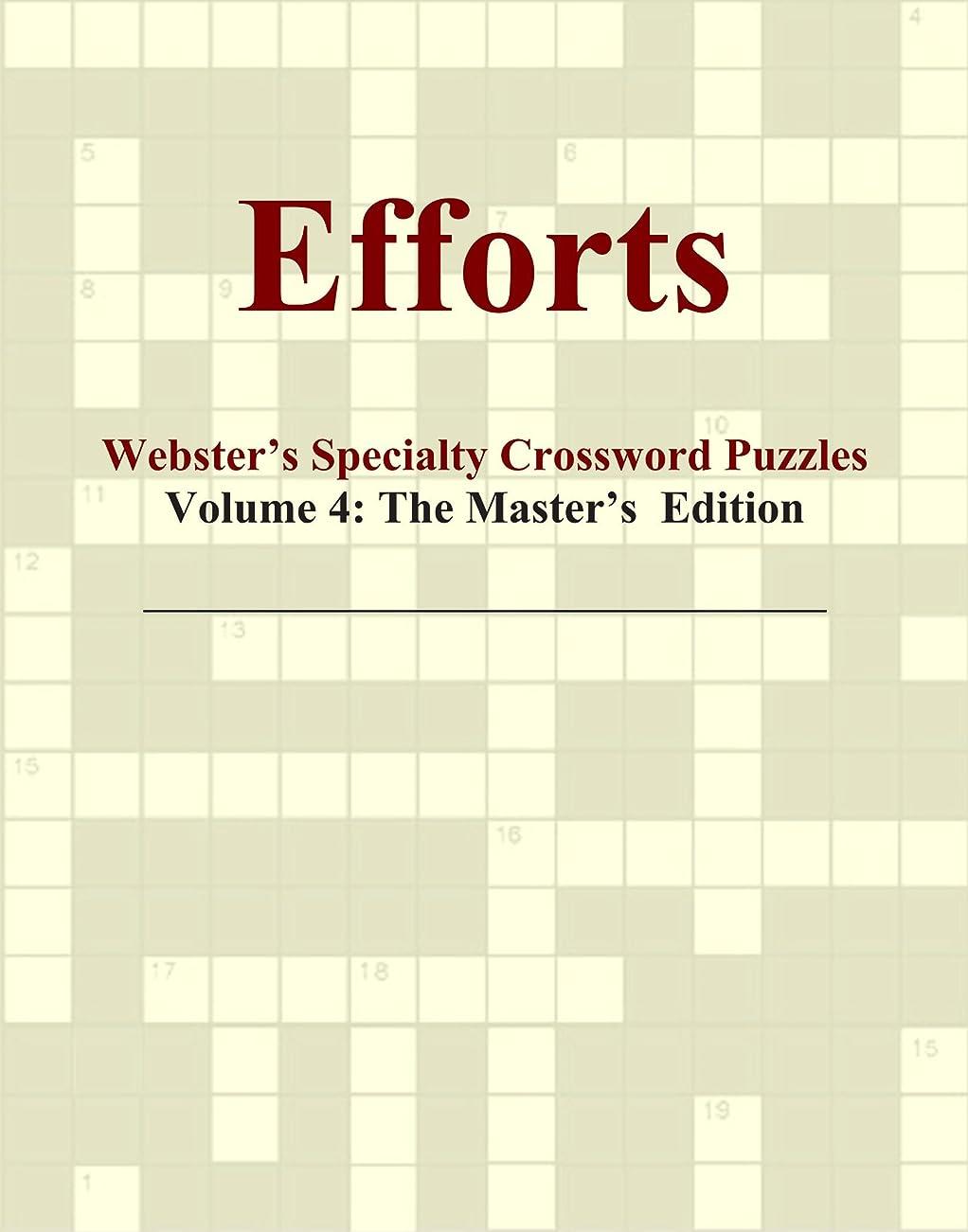 コンドーム抽象化レタッチEfforts - Webster's Specialty Crossword Puzzles, Volume 4: The Master's Edition