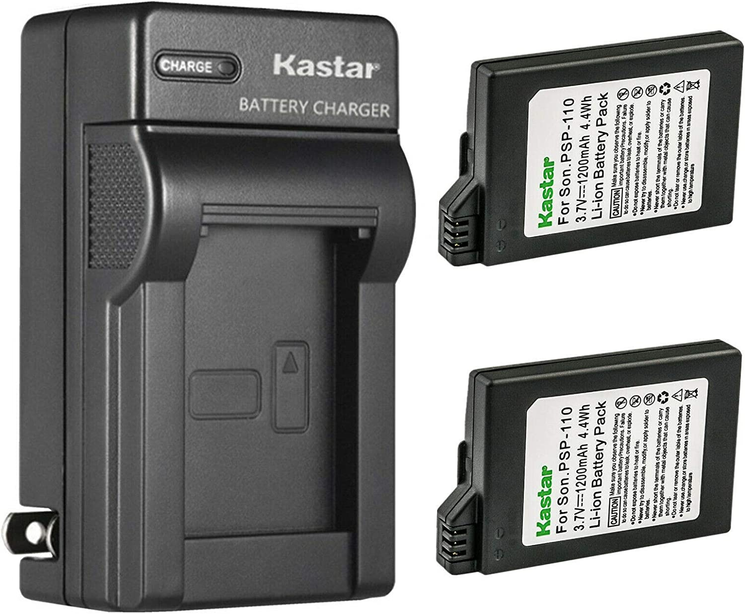 Kastar shop 2-Pack Battery Miami Mall and AC Wall Sony Charger P Replacement for