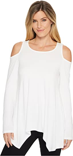 Cold Shoulder Handkerchief Top
