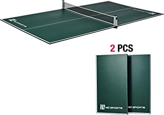 MD Sports Table Tennis Set: Regulation Ping Pong Table with Net - Available in Multiple Styles