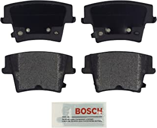 Bosch BE1057A Blue Disc Brake Pad Set for Select Chrysler 300 and Dodge Challenger, Charger, and Magnum - REAR