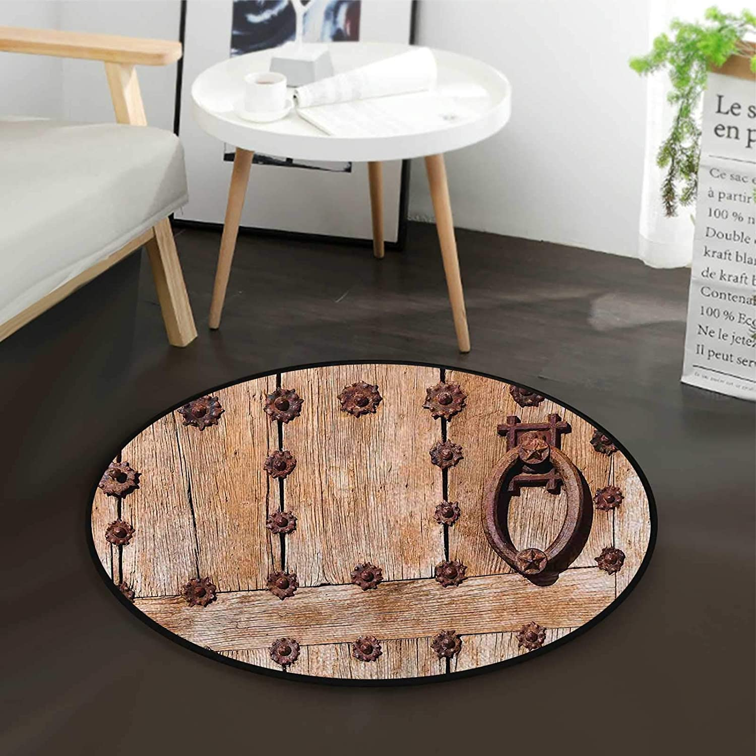 Rusty Max 45% OFF Spanish Entrance Office Swivel sold out Mat Cha Chair Multi-Purpose