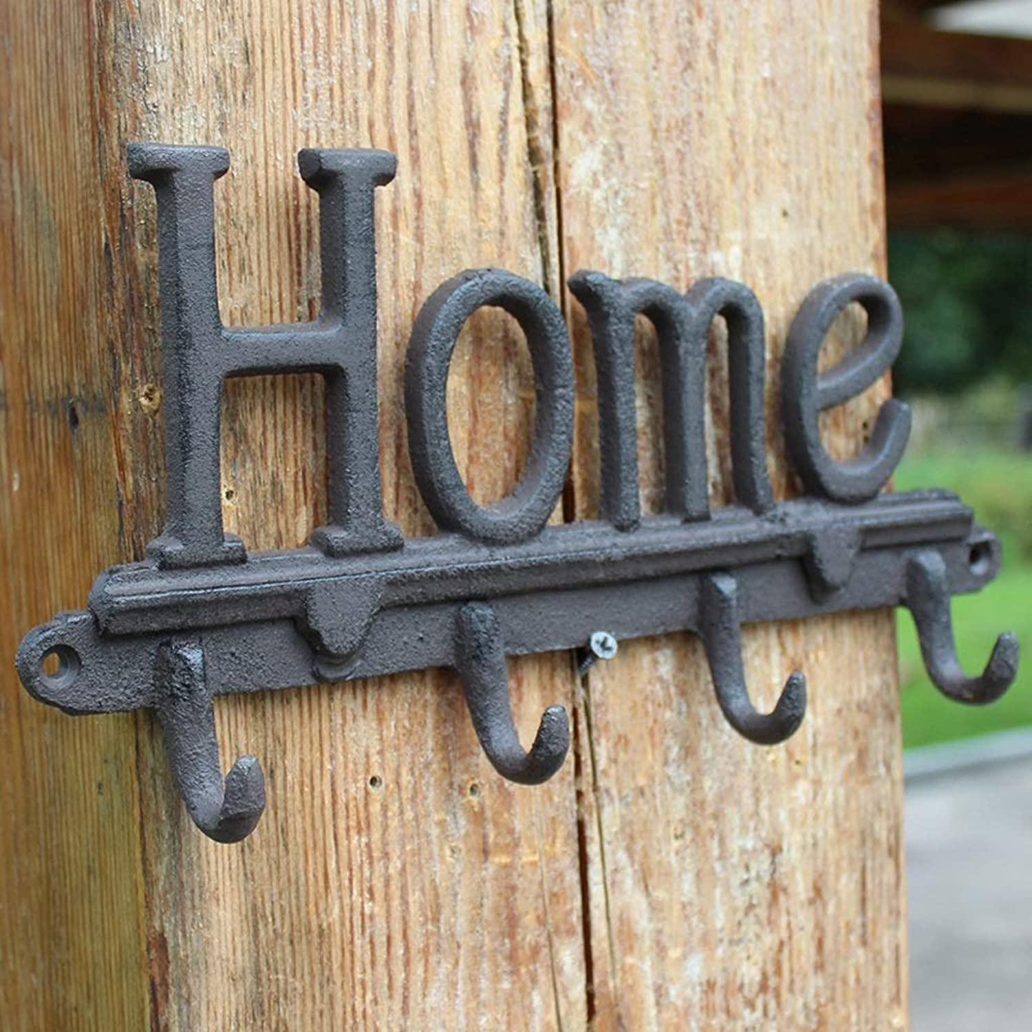 XUYRENP Retro Country Industrial Wind Cast Iron Hook Crafts Wall Hangings Home Home Decoration