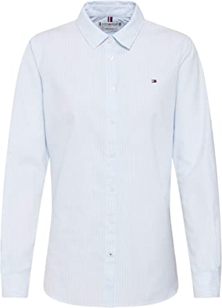 Tommy Hilfiger Heritage STP Regular Fit Shirt Blusa para Mujer