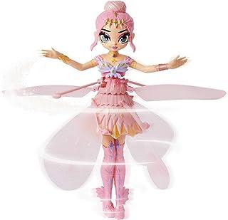 해치멀 픽시 크리트탈 플라이어 핑크 Hatchimals Pixies, Crystal Flyers Pink Magical Flying Pixie Toy, for Kids Aged 6 and up