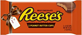 REESE'S Peanut Butter Cups, Chocolate Candy, Worlds Largest, 1 Pound