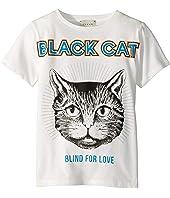 Gucci Kids - Black Cat T-Shirt (Little Kids/Big Kids)