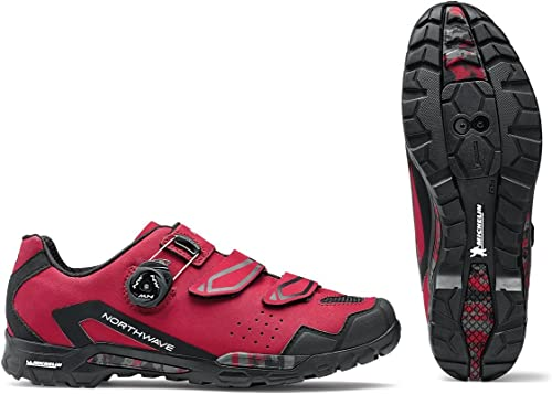 Northwave outcross Plus MTB Trekking Vélo Chaussures Baie Rouge 2018