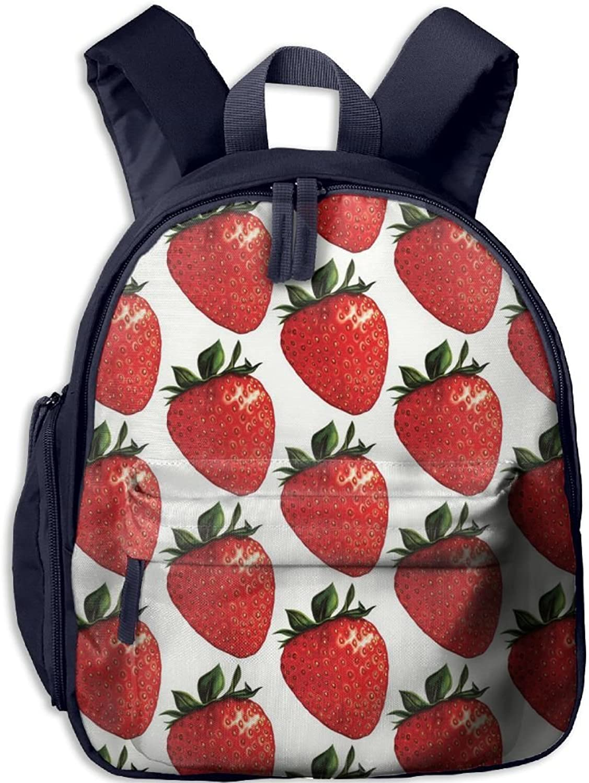 Lightweight Kids School Retro Summer Fruit(661) Backpack