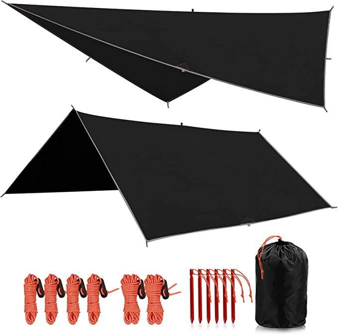 REDCAMP Waterproof Camping Tarp - Best Multipurpose Use