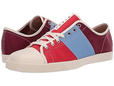 MARNI Multicolor Tennis Sneaker (Red/Water) Men