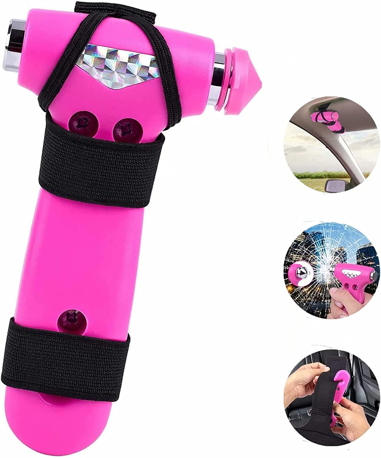 Automotive Safety Hammer Vehicle Seatbelt Max 49% OFF Some reservation Cutter Glas and Window