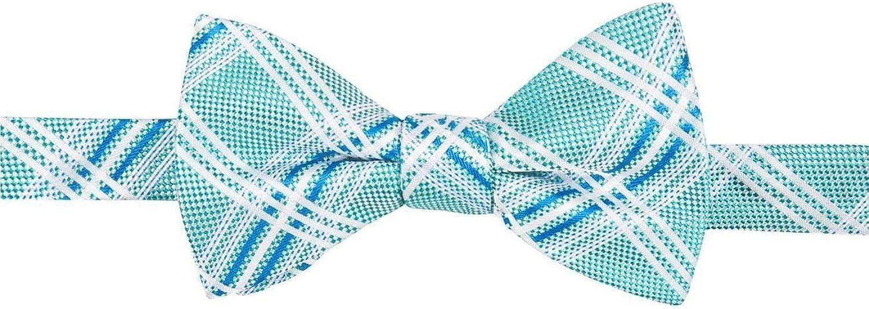 Countess Mara Mens Silk Plaid Bow Tie