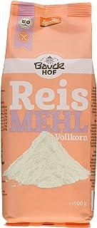 Bauckhof Reismehl Vollkorn Demeter, 6er Pack 6 x 500 g