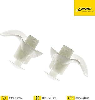 Finis Trainingsgeräte Ear Plug Tapones para los oídos para natación, Unisex, Claro
