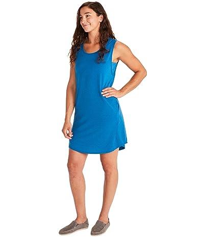 Marmot Estel Dress Short Sleeve (Classic Blue) Women