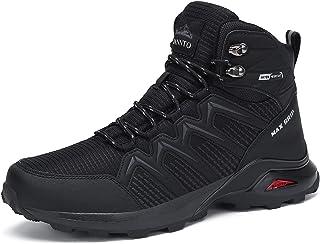 Dannto Scarpe da trekking da uomo, scarpe da ginnastica antiscivolo, per trekking, campeggio