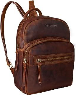 "STILORD Alba"" Kleiner Leder Rucksack Damen Vintage Daypack City Lederrucksack klein Handtasche Echtleder"